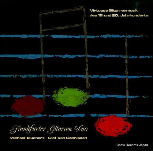 FRANKFURTER GITARREN DUO virtuose gitarrenmusik des 19. und 20. jahrhunderts