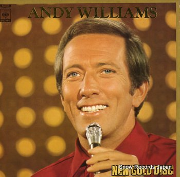 WILLIAMS, ANDY new gold disc