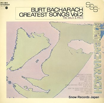 GALS & PALS, THE burt bacharach greatest songs vol.2