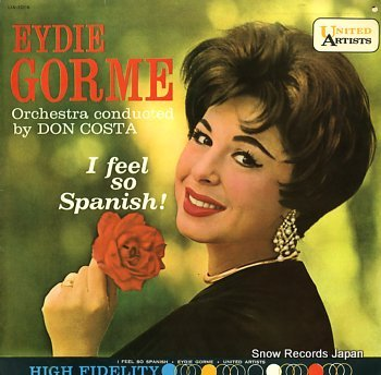 GORME, EYDIE i feel so spanish