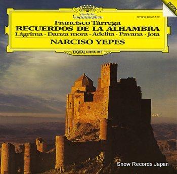YEPES, NARCISO tarrega; recuerdos de la alhambra