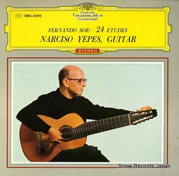 YEPES, NARCISO sor; 24etudes