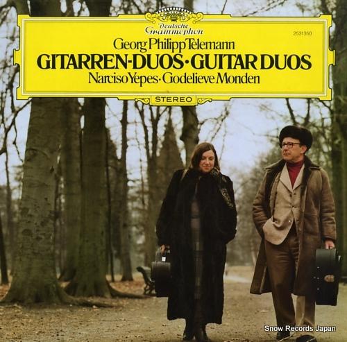 YEPES, NARCISO telemann; gitarren-duos