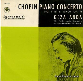 ANDA, GEZA chopin; piano concerto no.1 in e minor op.11