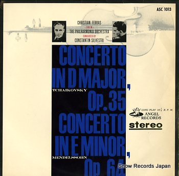 FERRAS, CHRISTIAN tchaikovsky; concerto in d major, op.35