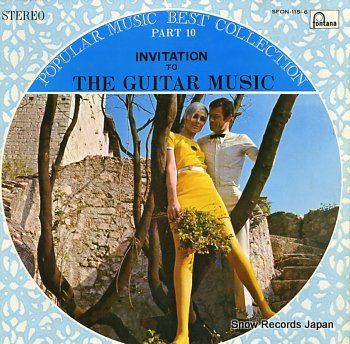 GUITARRA ROMANTICA invitation to the guitar music