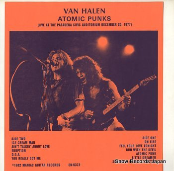 VAN HALEN atomic punks