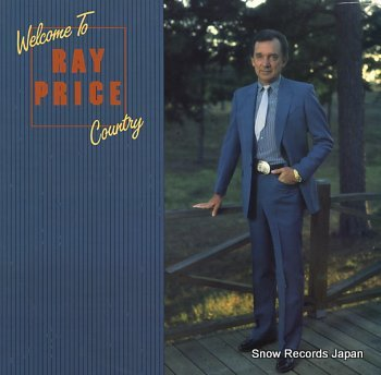 PRICE, RAY welcome to ray price country