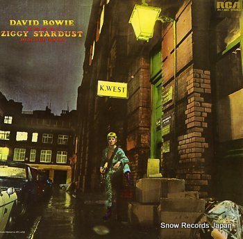 BOWIE, DAVID rise and fall of ziggy stardust and the spiders from mars