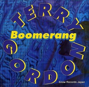GORDON, TERRY boomerang
