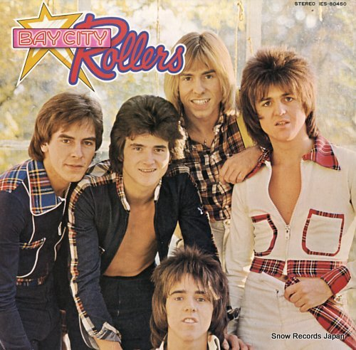 BAY CITY ROLLERS wouldn't you like it IES-80450 - front cover