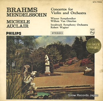 AUCLAIR, MICHELE brahms/mendelssohn; violin concertos
