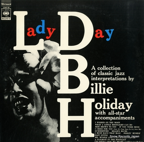 HOLIDAY, BILLIE lady day