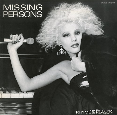 MISSING PERSONS rhyme and reason