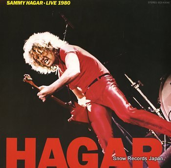 HAGER, SAMMY live 1980