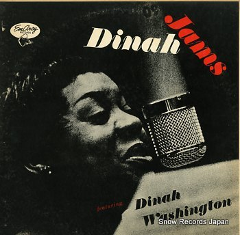 WASHINGTON, DINAH dinah jams