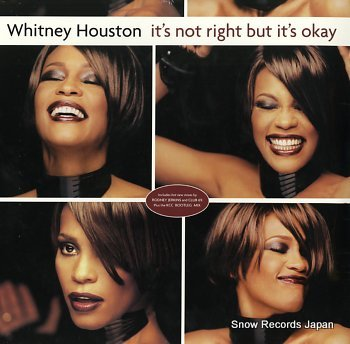 HOUSTON, WHITNEY it's not right but it's okay