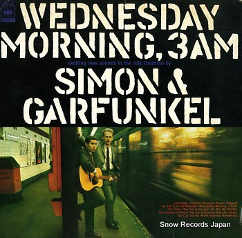 SIMON & GARFUNKEL wenesday morning 3am