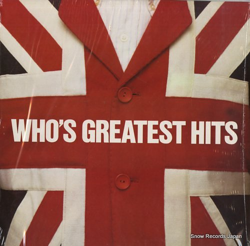 WHO, THE greatest hits