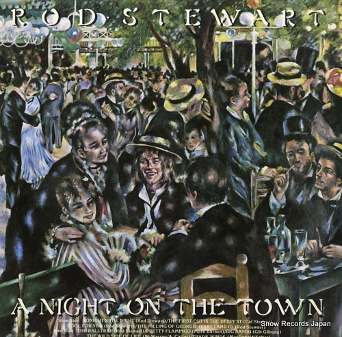 STEWART, ROD night on the town, a