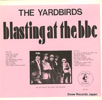 YARDBIRDS, THE blasting at the bbc