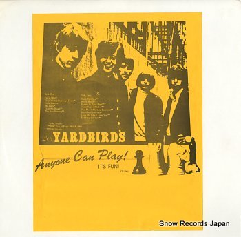 YARDBIRDS, THE anyone can play