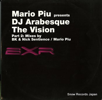 DJ ARABESQUE vision, the