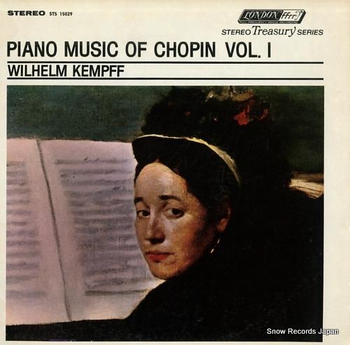 KEMPFF, WILHELM piano musicof chopin vol.1
