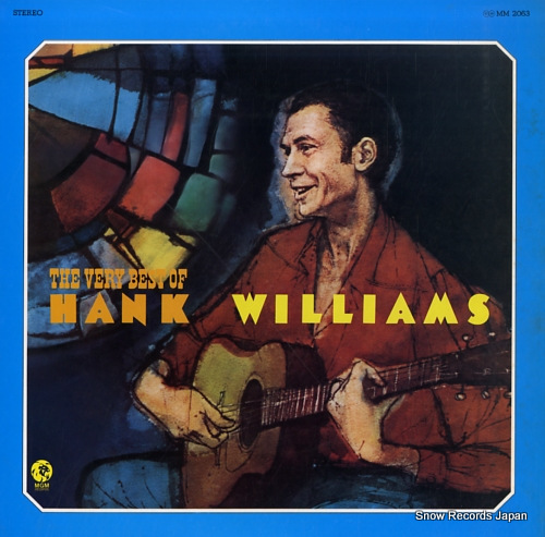 WILLIAMS, HANK very best of, the