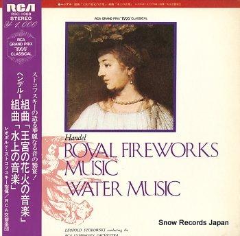STOKOWSKY, LEOPOLD handel; royal fireworks music