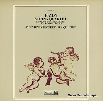 VIENNA KONZERTHAUS QUARTET, THE haydn; string quartet in d major, op.64 no.6 lerchen