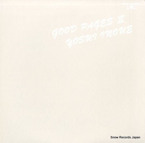 INOUE, YOUSUI good pages ii