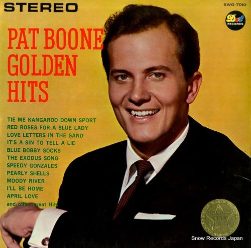 BOONE, PAT golden hits