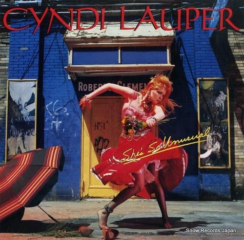 LAUPER, CYNDI she's so unusual