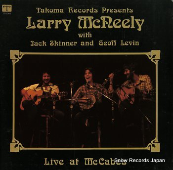 MCNEELY, LARRY live at mccabe's