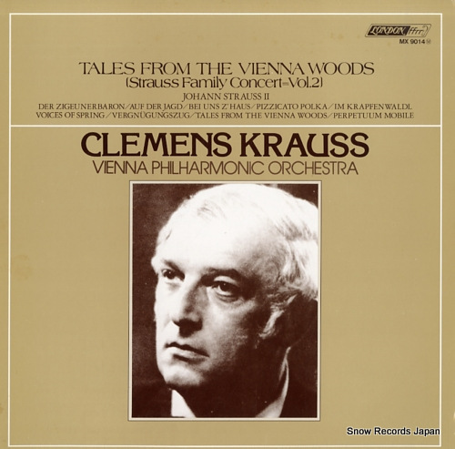KRAUSS, CLEMENS tales from the vienna woods - strauss family concert vol.2