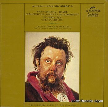 GOOSSENS, EUGENE moussorgsky- ravel; sym. suite picture at an exhibition