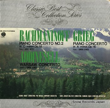 HATTO, JOYCE rachmaninoff; piano concerto no.2 in c minor, op.18