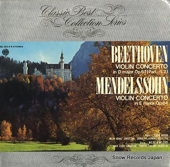 MELCHER, WILHELM beethoven; violin concerto in d major, op.61