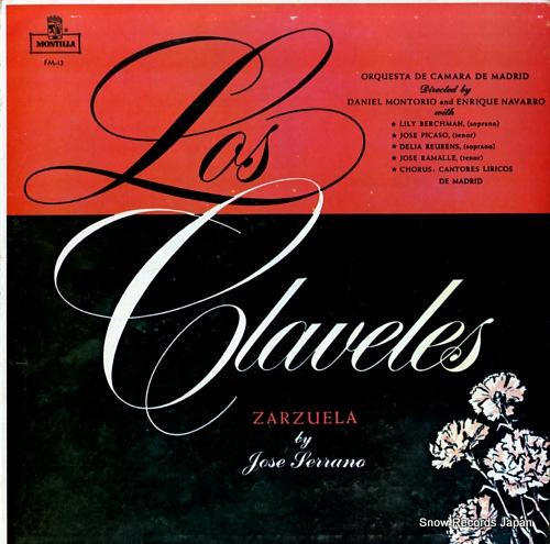 MONTORIO, DANIEL, AND ENRIQUE NAVARRO jose serrano; los claveles FM-13 - front cover