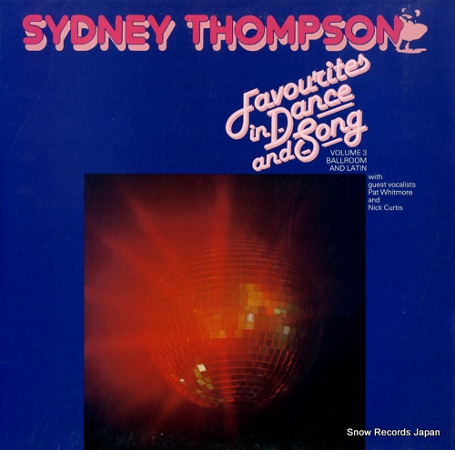 THOMPSON, SYDNEY favourites in dance and song VOC318 - front cover