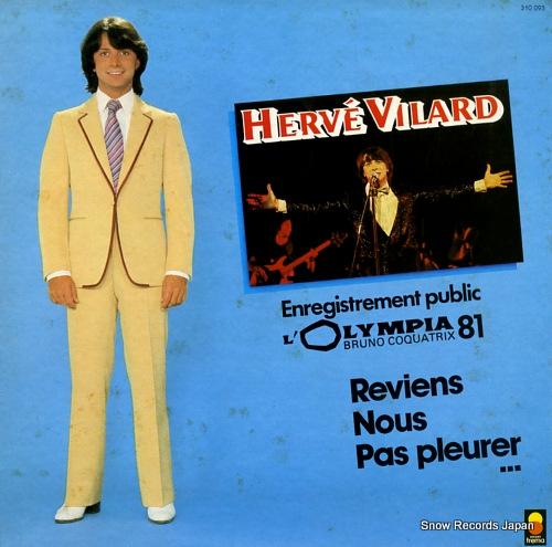 VILARD, HERVE enregistrement public - l'olympia 81 310093/AE280 - front cover