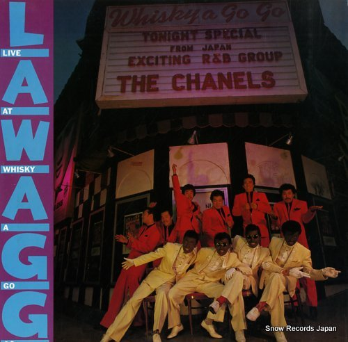 CHANELS, THE live at whisky a go go 20.3H-40 - front cover