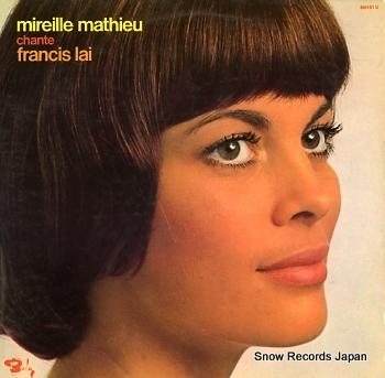 MATHIEU, MIREILLE chante francis lai
