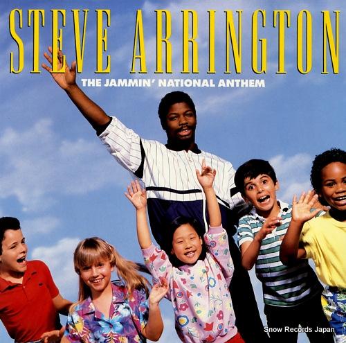 ARRINGTON, STEVE the jammin' national anthem 781643-1 - front cover
