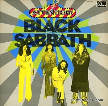 BLACK SABBATH attention