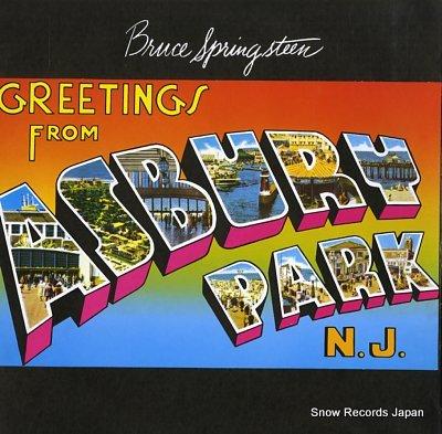 SPRINGSTEEN, BRUCE greetings from asbury park, n.j.