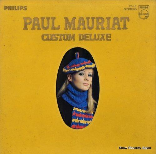 MAURIAT, PAUL custom deluxe