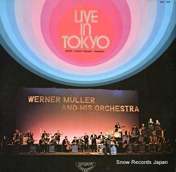 MULLER, WERNER live in tokyo