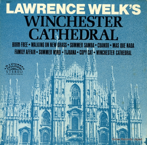 WELK, LAWRENCE winchester cathedral R8017 - front cover